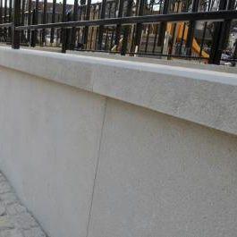 Gartenzaun / Platten / Beton - RÉSIDENCE - Sitinao
