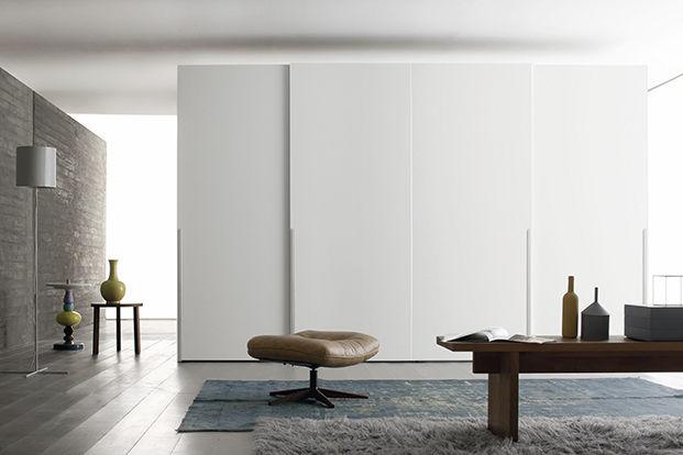 Design schrank holz  Moderner Kleiderschrank / Holz / Schiebetüren - MULTIPLO - Le ...