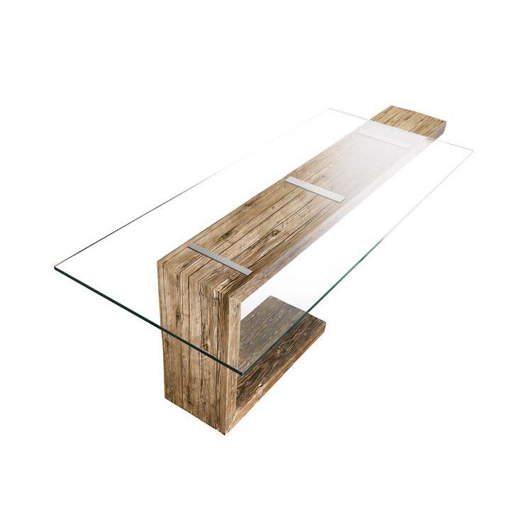 Moderner Esstisch / Glas / Rechteckig   EQUILIBRIO By Antonio Benedetti U0026 Giuseppe  Pruneri