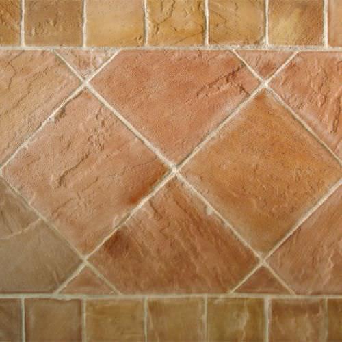 InnenraumFliesen Boden Aus Sandstein Metallisierter - Steinfliesen für den boden