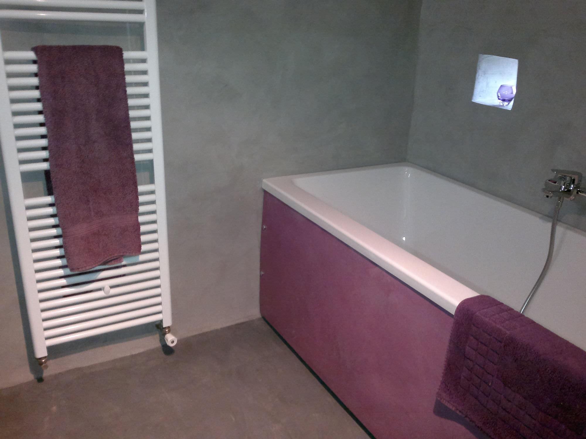 Dekorputz / Innenraum / für Wände / Zementfein - SOL / MUR ...