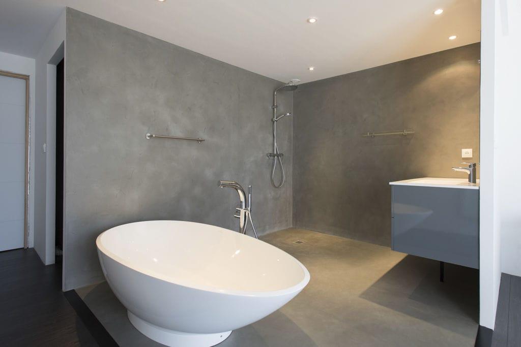 Bodenbelag Beton beton bodenbelag gewachster betonoptik hochbelastbar