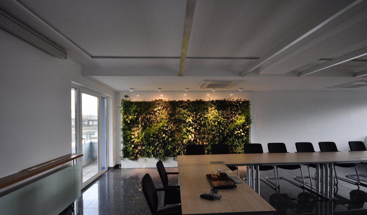 Beeindruckend Pflanzen Wand Galerie Von Bioklimatisch; Innenraum-pflanzenwand / Bioklimatisch