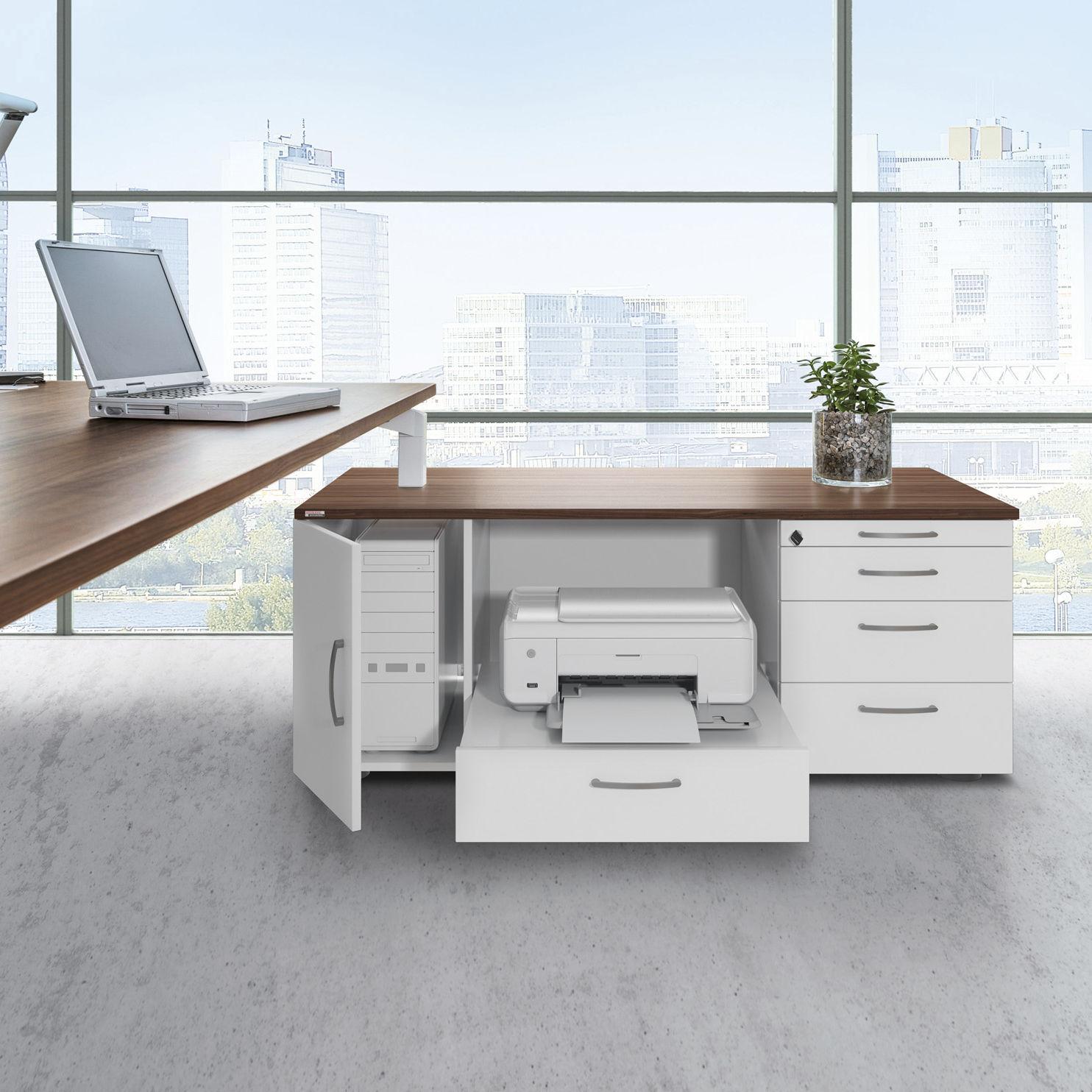 Holz-Büroschubladenschrank / Melamin / 3-Schubladen / 4-Schubladen ...