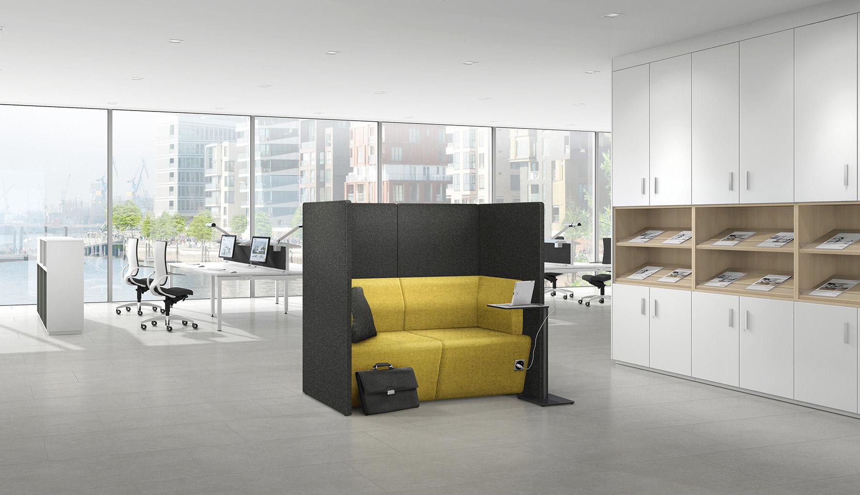 Lounge Sofa Modulierbar Modern Stoff Syneo Assmann