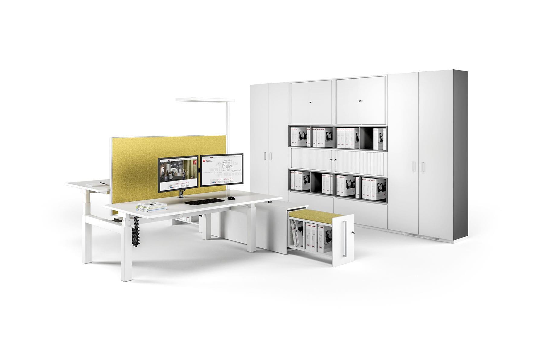 Schreibtisch für Open Space / Holz / modern / Gewerbe - CANVARO ...