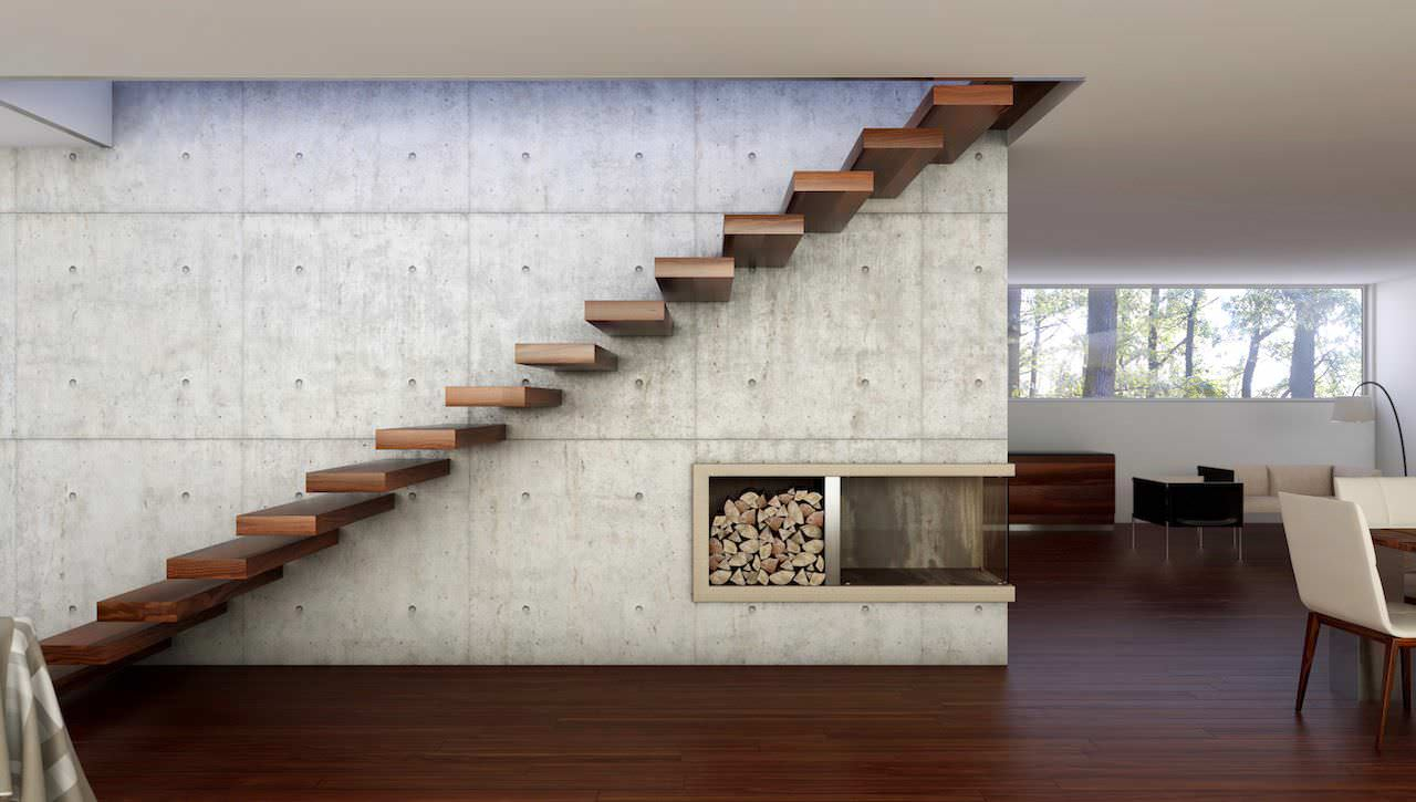 Fußboden Modern Eropa ~ Treppe modern amazing treppe mit brstung als gelnder with treppe
