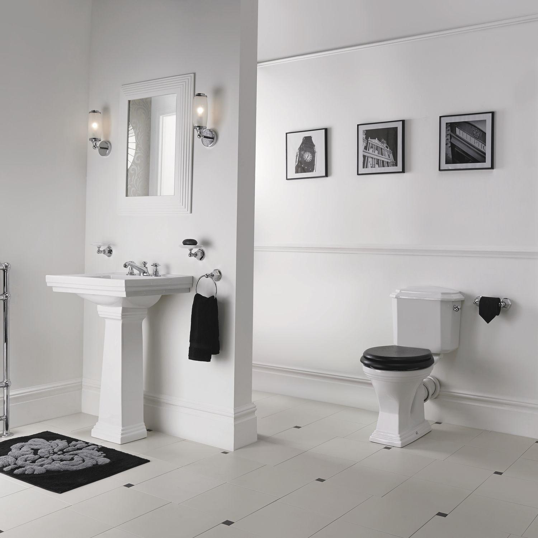 Monoblock-WC / Keramik / mit Betätigungshebel - ASTORIA DECO ...