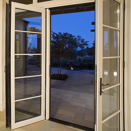 Stapelbare Schiebe Terrassentür / Holz / Aluminium / 3 Fach Verglasung WA67  NanaWall ...