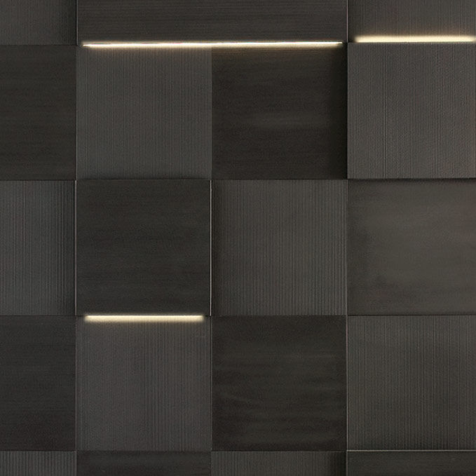 Fliesen Fur Badezimmer Wand Aus Naturstein Matt Striped Led