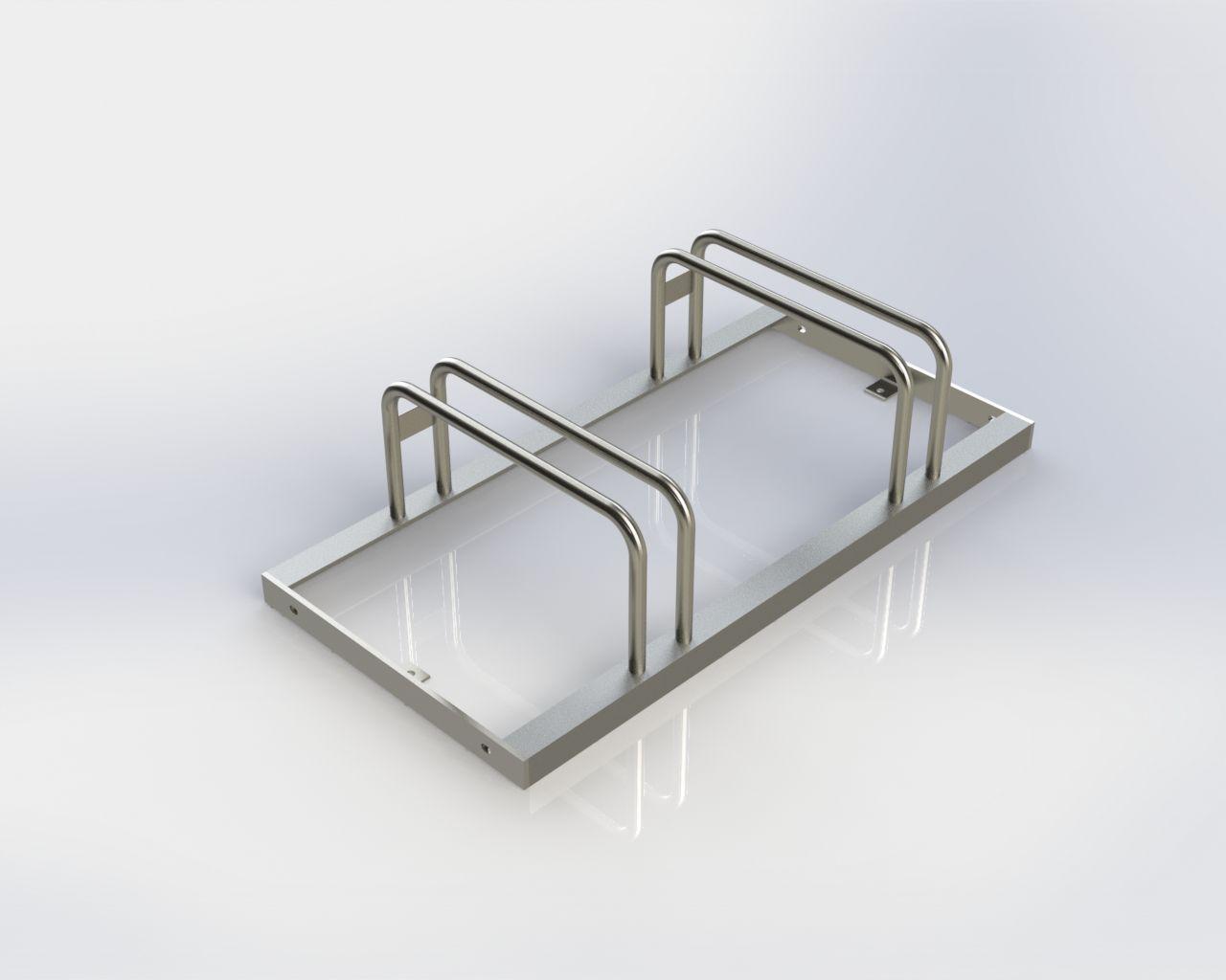 Stahl Fahrradständer Aus Verzinktem Stahl Verzinkter Stahl