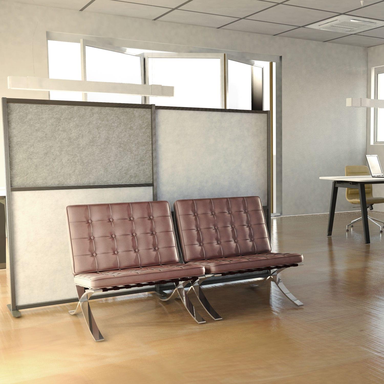 Schallschlückplatte für Böden / aus Polyesterfasern / für Büro ...