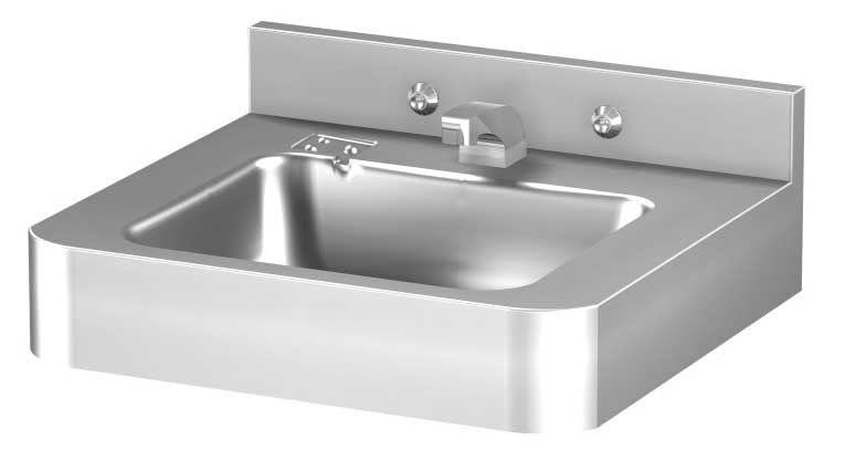 Waschbecken Edelstahl wand waschbecken rechteckig edelstahl modern dura ware