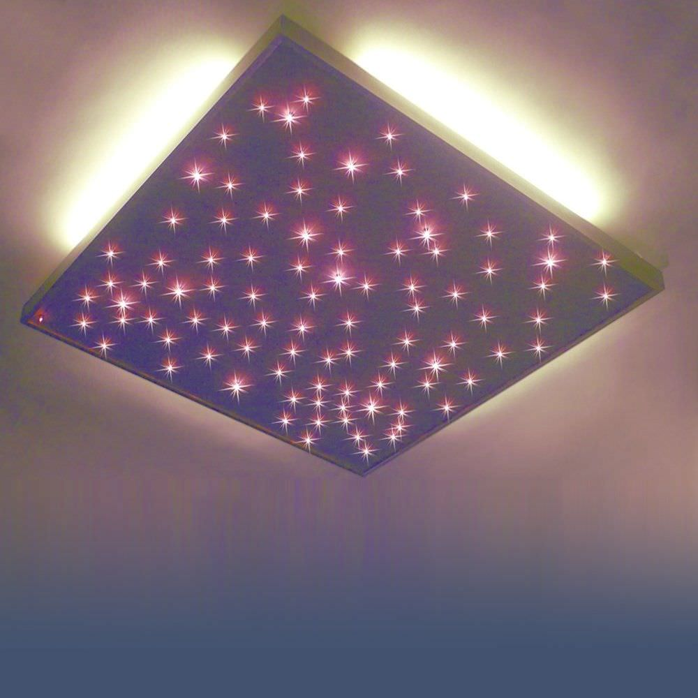 Moderne Deckenleuchte / Quadratisch / Aus Aluminium / LED   PLAFOND ÉTOILÉ