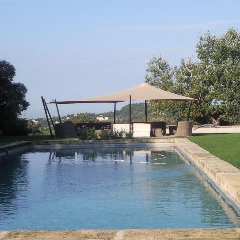 Stoffdach-Pavillon - TENTE TOUAREG JARDIN AIXOIS - Atelier Aude Cayatte