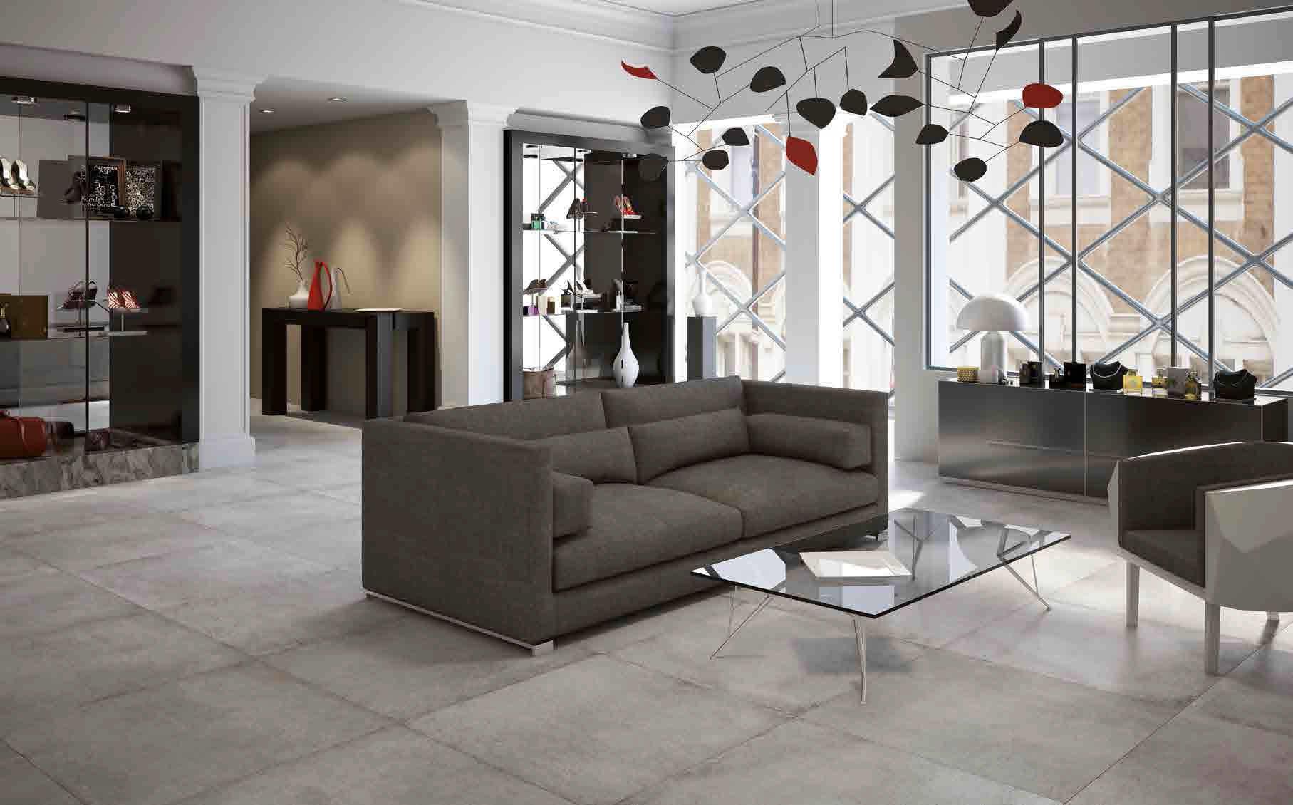 Reizvoll Fliesen Wohnzimmer ~ Wohnzimmer fliesen für fußböden feinsteinzeug matt aster