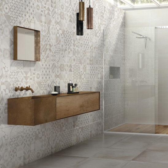 Entzuckend Fliesen Für Badezimmer / Wand / Feinsteinzeug / Motiv   ARGILLE : EVOQUE  NOGAL