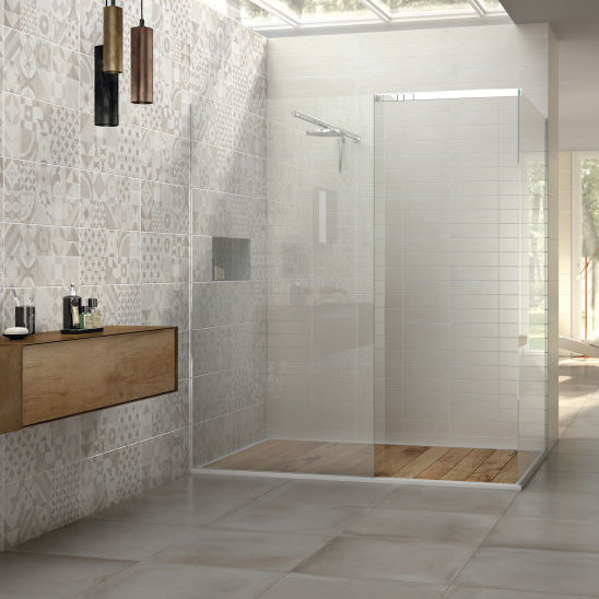 Fliesen Für Badezimmer / Wand / Feinsteinzeug / Uni   ARGILLE : SUGAR