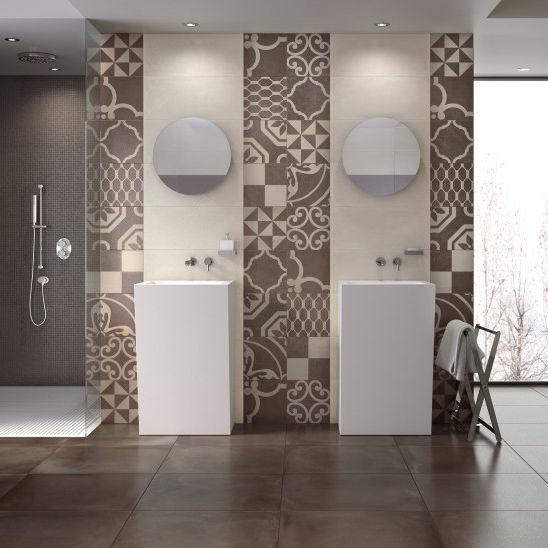 Fliesen Für Badezimmer / Wand / Feinsteinzeug / Matt   ARGILLE : ALMOND