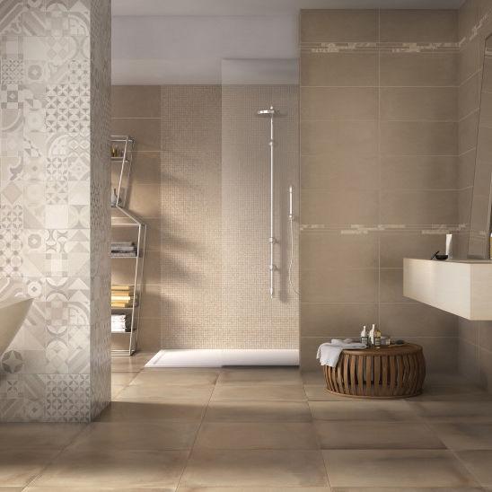 Fliesen Für Badezimmer / Wand / Feinsteinzeug / Uni   ARGILLE : RUST