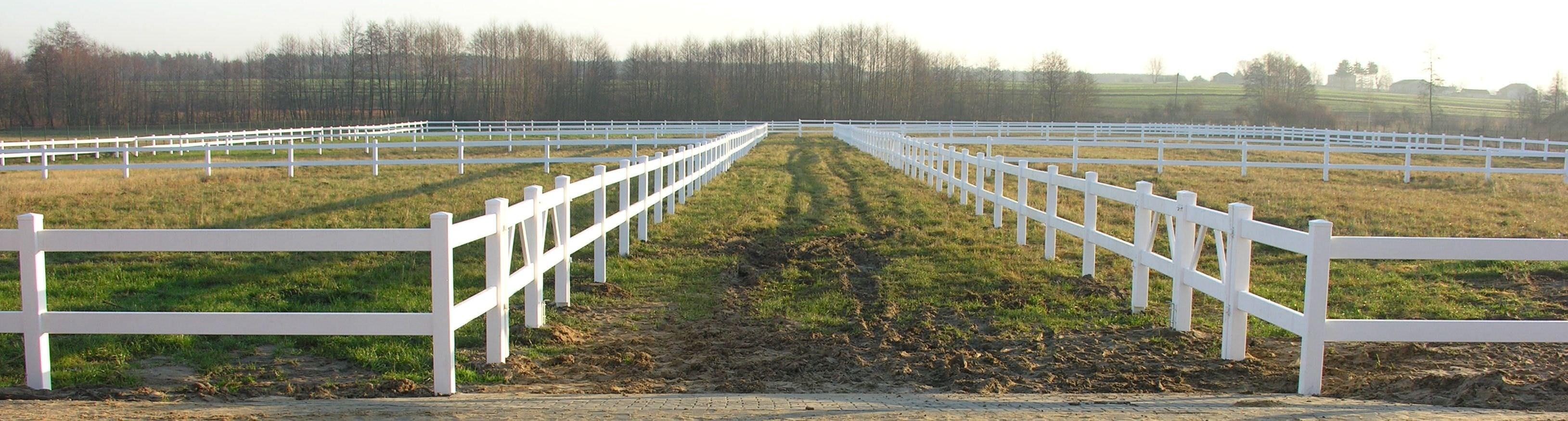 Zaun für Grünanlagen Stangen Holz FARMER 2 Top Fence