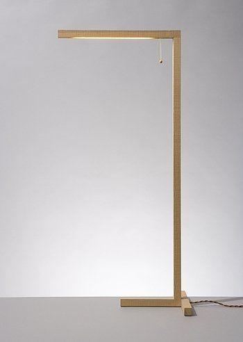 Stehleuchte / modern / Holz / Innenraum - 1 X 1 - studiomama