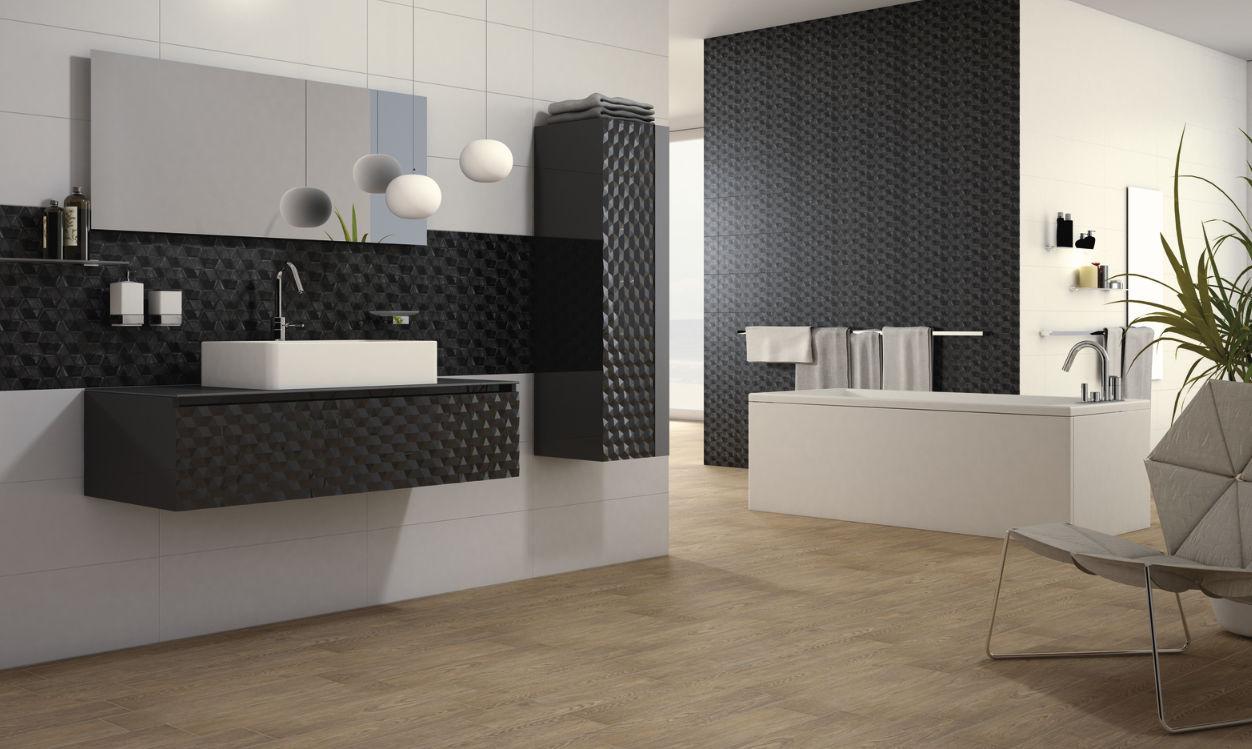 Badezimmer Fliesen Für Böden Keramik 3d Illusion Kale
