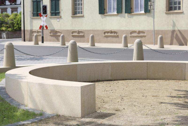 Gartenbank modern beton  Gartenbank / Park / modern / Beton - Kronimus AG Betonsteinwerke