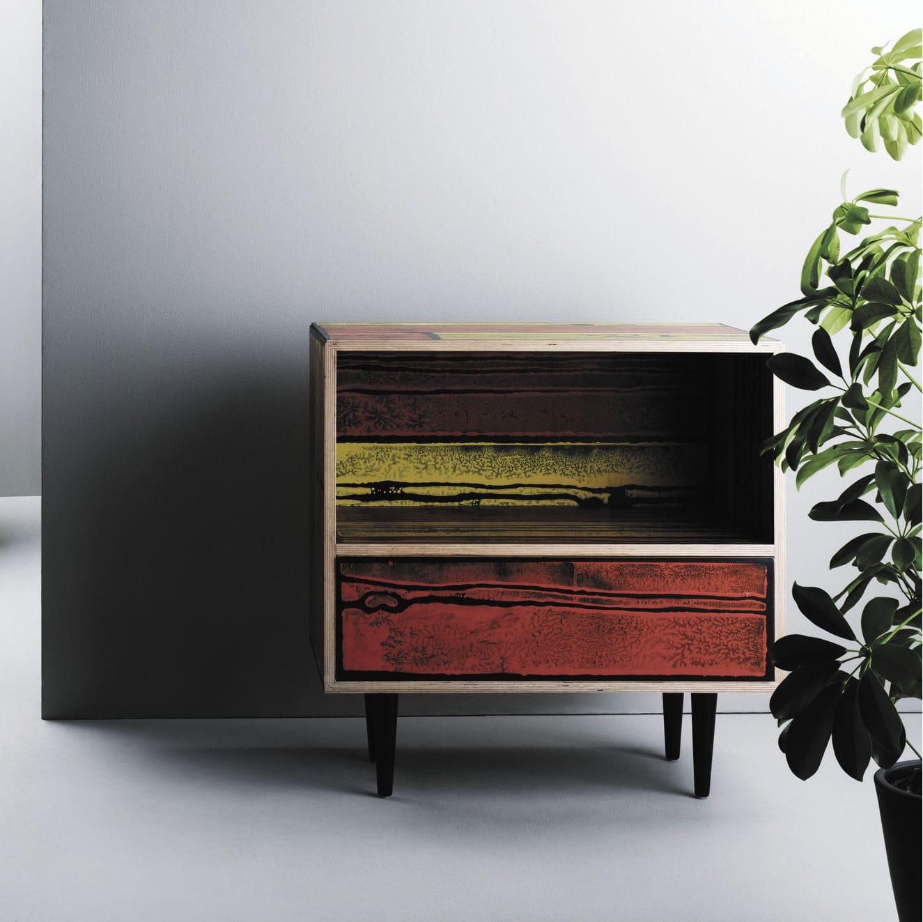Moderner Nachttisch / Holz / Rechteckig   WRONGWOODS By Richard Woods U0026  Sebastian Wrong
