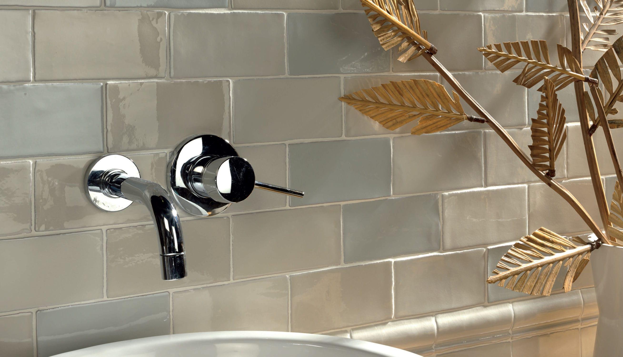 Fliesen Für Badezimmer Küchen Wand Keramik ANTIC CRAQUELÉ - Metro fliesen craquele