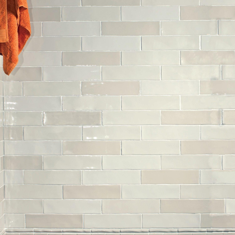 Innenraum-Fliesen / für Wände / Keramik / uni - ALASKA CRAQUELE - CEVICA