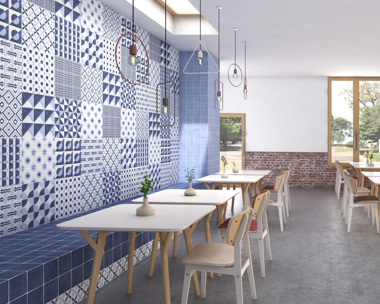 Fliesen für Badezimmer / Küchen / Wohnzimmer / für Wände - NEW POP ...