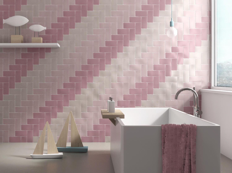 Fliesen für Badezimmer / Küchen / für Wände / Keramik - ANTIC ...