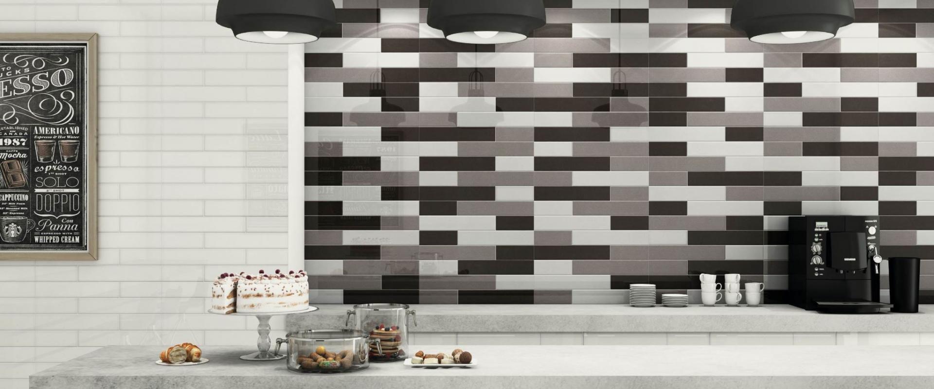 Küchenfliesen / Wand / Keramik / mit geometrischem Muster - ENGLAND ...