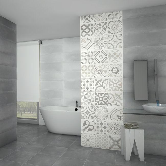 Fliesen für Badezimmer / Wand / Keramik / uni - CONCRET - Cerámicas Myr