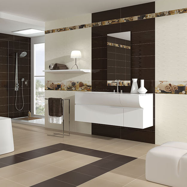 Fliesen für Badezimmer / für Wände / Keramik / 20x60 cm - HARMONY ...