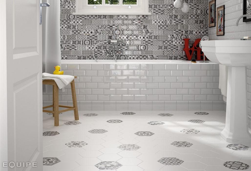 Innenraum-Fliesen / für Badezimmer / für Böden / Keramik - METRO ...