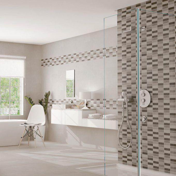 Fliesen Für Badezimmer / Wand / Keramik / Mit Geometrischem Muster    PORTLAND