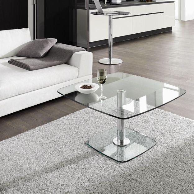 Moderner Couchtisch Glas Rechteckig Quadratisch P 430 By