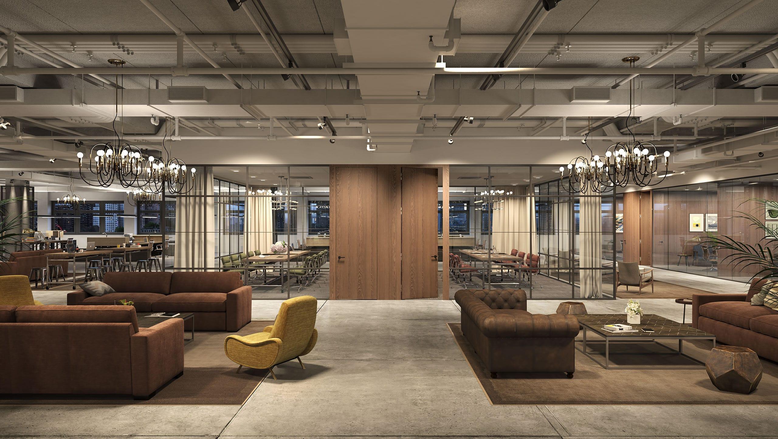 stunning bunte glas trennwande spielerisch ideas - globexusa.us ... - Industrieller Schick Design Dachwohnung