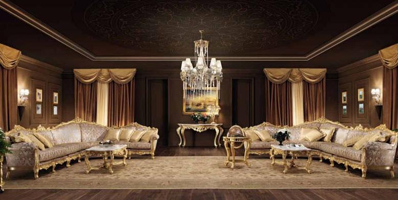 ecksofa / modern / gewebe / 6 plätze - villa venezia : 11401 ... - Villa Wohnzimmer Modern