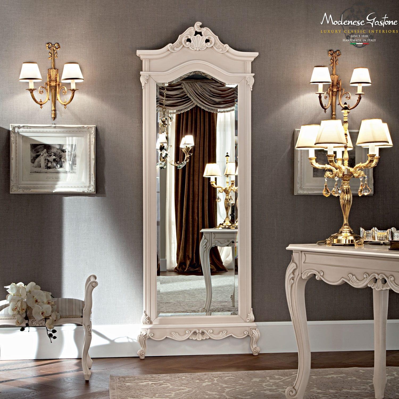 Standspiegel Stil Holz Casanova Modenese Interiors Luxury