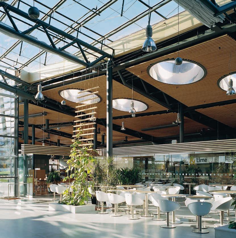 Abgehängte Decke / Holz / Lamellen - DALHEM RIBBA - Ah Produkter