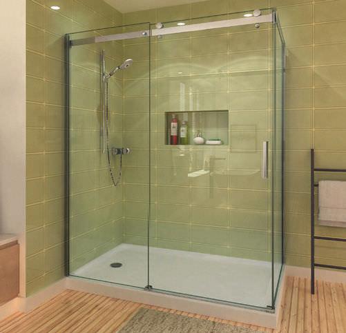 Glas-Duschkabine / rechteckig / Schiebetüren - FLOW: CPL408 - CAML ... | {Duschkabine glas 72}
