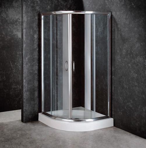 Duschabtrennung glas rund  Duschkabine Glas: glas dusche ihr shop für badmöbel whirlpools ...