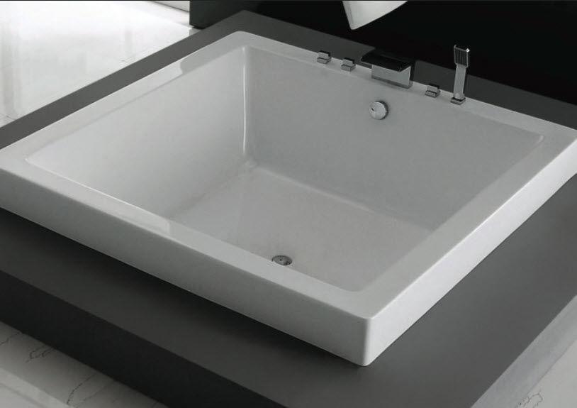 Quadratische Badewanne quadratische badewanne quarz quadra 63di63 caml tomlin