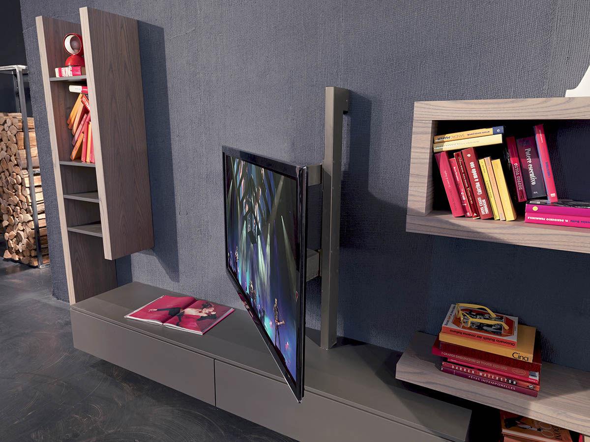 Moderne TV Wandhalterung / schwenkbar / Metall - FLAG - Fimar Srl