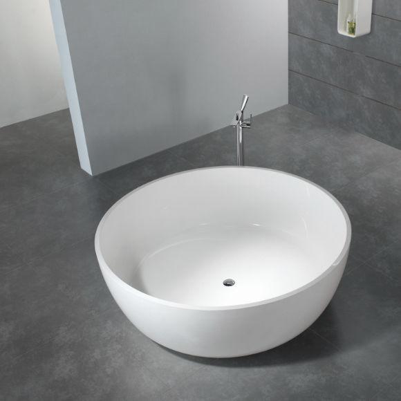 Freistehende badewanne rund  Freistehende Badewanne / rund / Mineralwerkstoff - BS-S25 - Bella ...