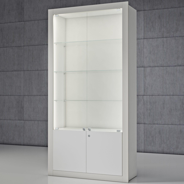 Blickfang Vitrine Glas Referenz Von Moderne / / Holz / Beleuchtet -
