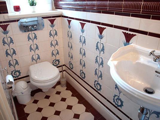 fliesen für badezimmer / für wandbespannungen / steingut